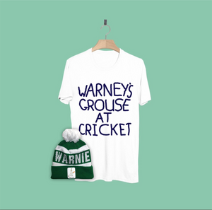Warneys Grouse at Cricket Beanie Combo