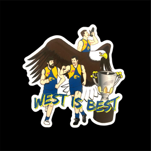 WEST IS BEST STICKER