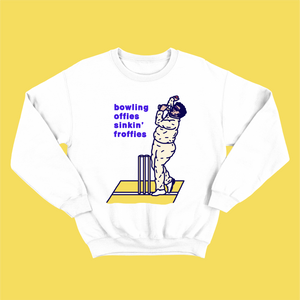 BOWLING OFFIES SINKING FROFFIES: JUMPER