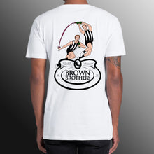 BROWN BROTHERS LOGO FRONT AND IMAGE BACK SHORT SLEEVE