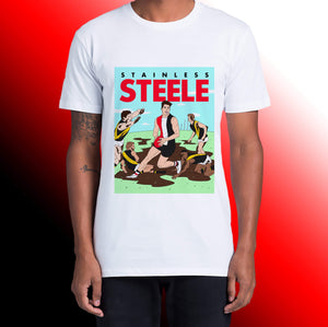 STAINLESS STEELE: FRONT ONLY