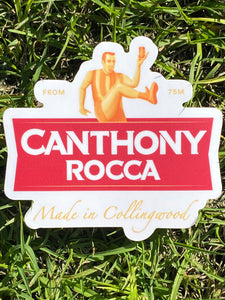 CANTHONY ROCCA STICKER