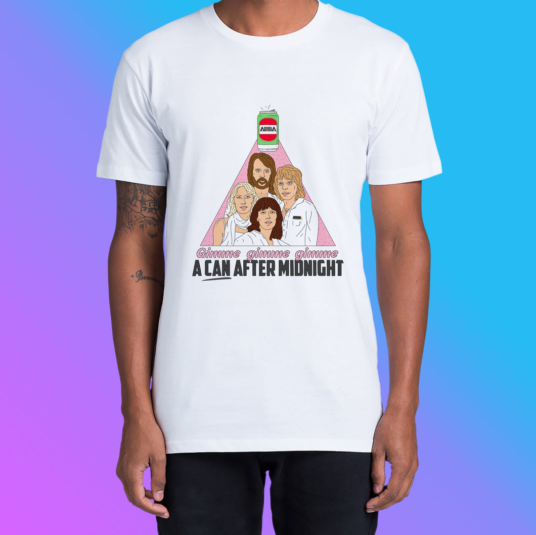 CAN AFTER MIDNIGHT: FRONT ONLY - UNISEX CUT