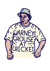 WARNEY'S GROUSE AT CRICKET: M.E.