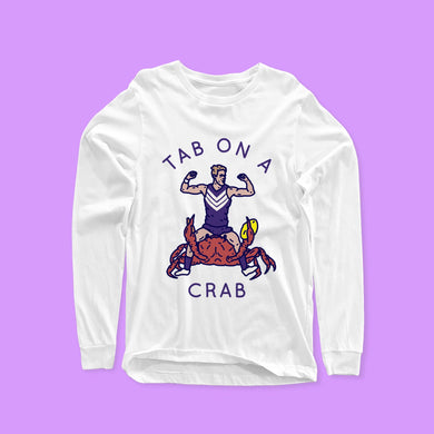 TAB ON A CRAB LONG SLEEVE
