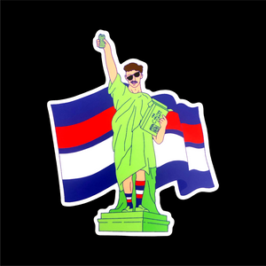 STATUE OF LIBBA STICKER