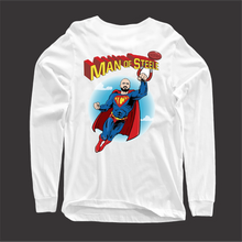 MAN OF STEEL FRONT AND BACK LONG SLEEVE