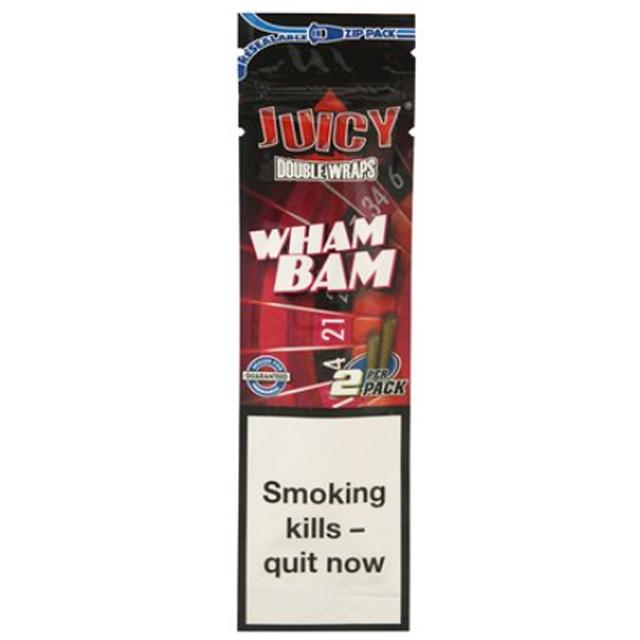 Juicy Double Blunt Wraps (Wham Bam)