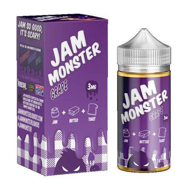 Jam Monster E-Juice - Grape (100ml)