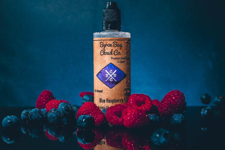 Blue Raspberry (30ml) - Byron Bay Cloud Co. Eliquid