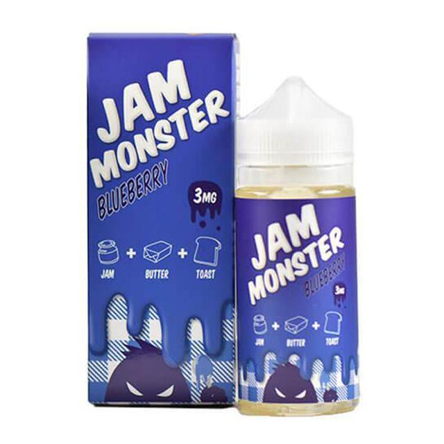 Jam Monster E-Juice - Blueberry (100ml)