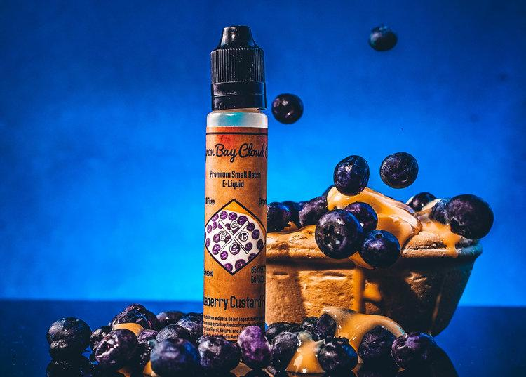 Blueberry Custard Pie (30ml) - Byron Bay Cloud Co. Eliquid