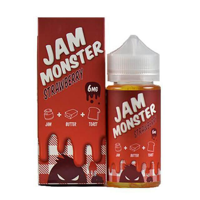 Jam Monster E-Juice - Strawberry (100ml)
