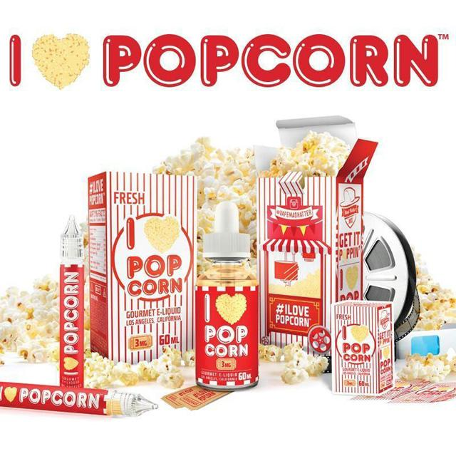 I Love Popcorn E-juice (60ml)
