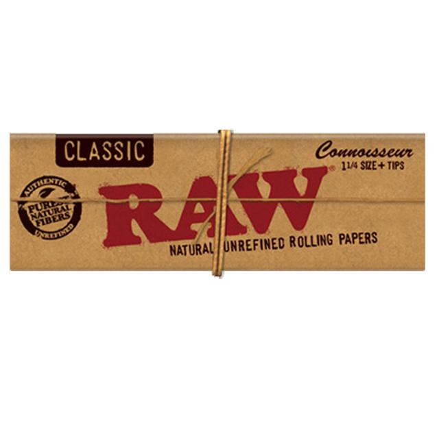 RAW Connoisseur 1 1/4 with tips