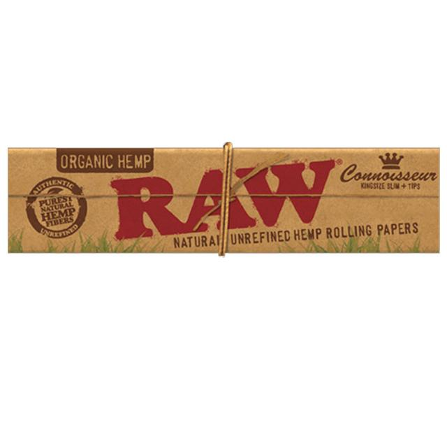 RAW Organic Connoisseur King Size with tips