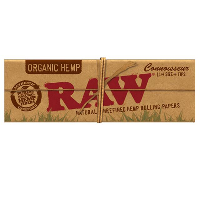 RAW Organic Connoisseur 1 1/4 with tips