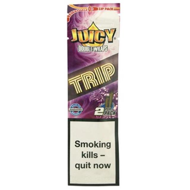 Juicy Double Blunt Wraps (Trip)