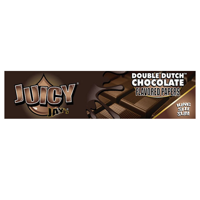 Juicy Jays KS Slim Double Dutch Chocolate (32 sheets/pack)