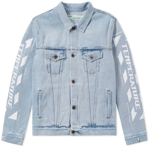 Off White Temperature Denim Jacket