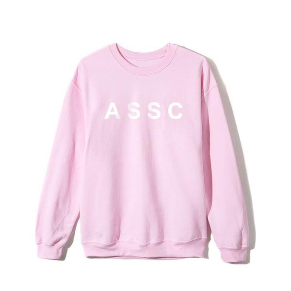 ASSC (Asia Exclusive) Peach Love Floral Crewneck Pink S