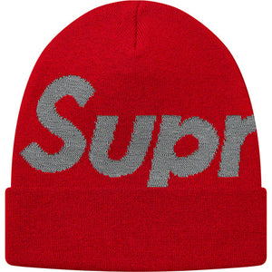 Red Big Logo Beanie (YOU CAN ONLY PICK ONE RAFFLE TO SIGN UP FOR)