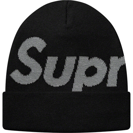 Black Big Logo Beanie (YOU CAN ONLY PICK ONE RAFFLE TO SIGN UP FOR)
