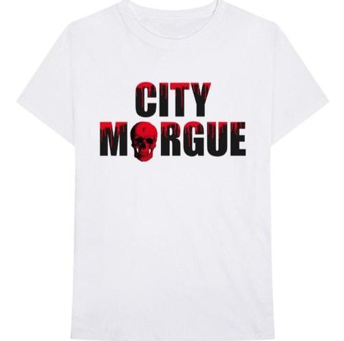 Vlone x City Morgue Dogs White Tee