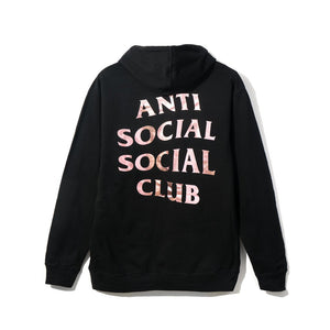 Anti Social Social Club Stressed Hoodie- Black XL