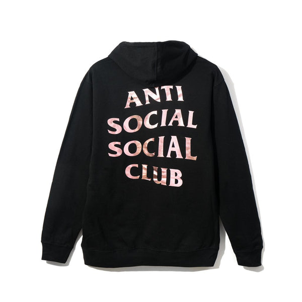 Anti Social Social Club Stressed Hoodie- Black L