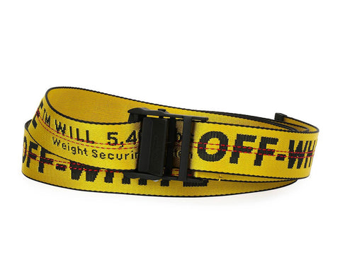 Off-White Men's Industrial Logo-Web Belt