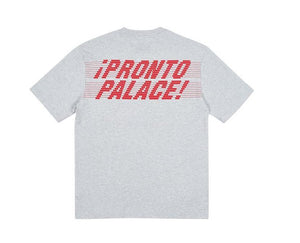 Palace Pronto T-Shirt Grey Marl