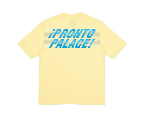 Palace Pronto T-Shirt Sunshine Yellow