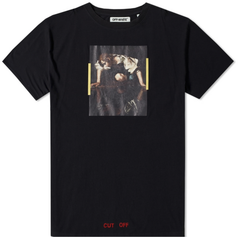 Off White Narcisso Tee- Black