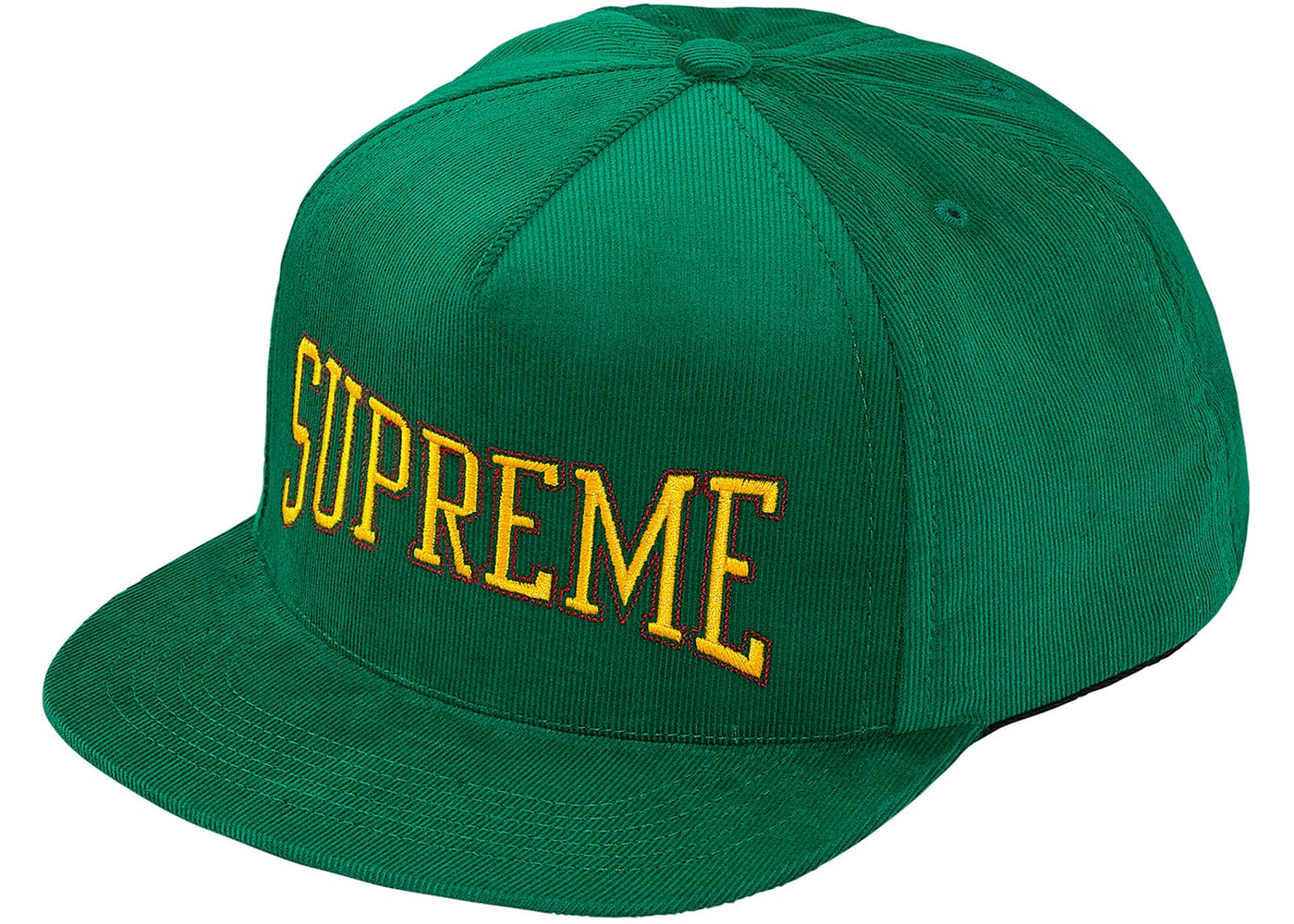 Supreme Dotted Arc 5-Panel Kelly Green