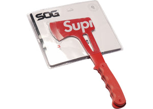 Supreme SOG Hand Axe Red