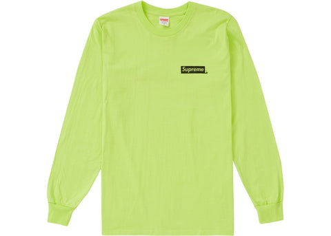 Supreme Sacred Unique L/S Tee Neon Green (L, XL)
