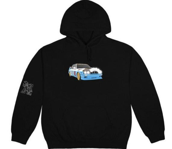 Travis Scott JACKBOYS Vehicle Hoodie Black (XL)
