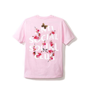 ASSC (Asia Exclusive) Peach Love Floral Tee Pink L