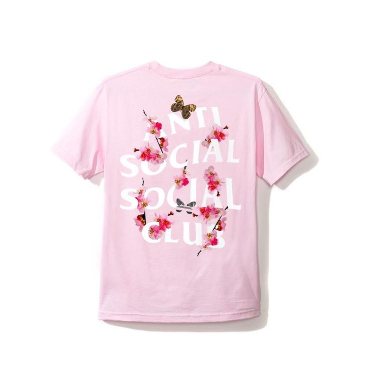 ASSC (Asia Exclusive) Peach Love Floral Tee Pink M