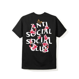 ASSC (Asia Exclusive) Peach Love Floral Tee Black M