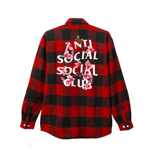 ASSC (Asia Exclusive) Red Kkock Flannel Size L