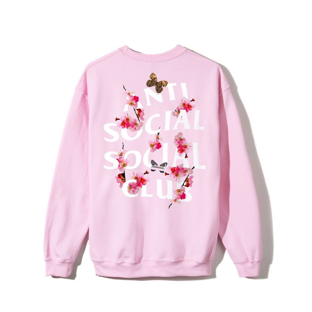 ASSC (Asia Exclusive) Peach Love Floral Crewneck Pink XL