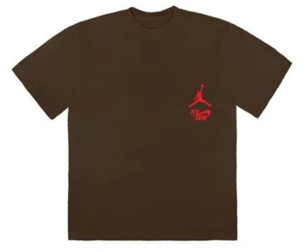 Travis Scott Jordan Cactus Jack Highest T Shirt Brown