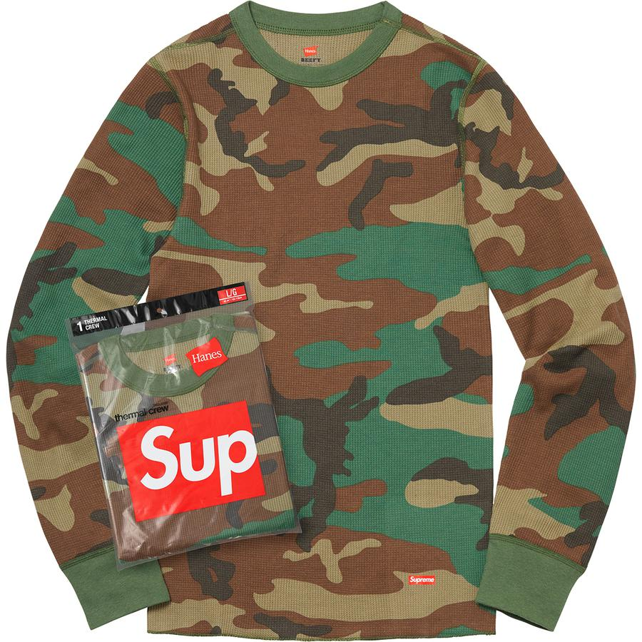 Supreme®/Hanes® Thermal Crew (1 Pack)