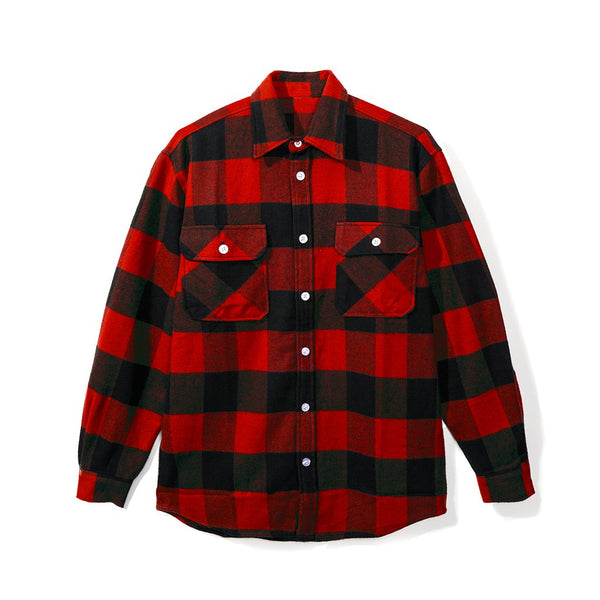 ASSC (Asia Exclusive) Red Kkock Flannel Size S
