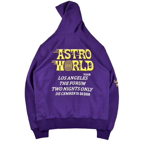 Travis Scott Astroworld LA Exclusive Hoodie Purple