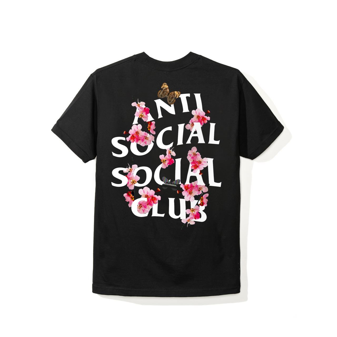 ASSC (Asia Exclusive) Peach Love Floral Tee Black L
