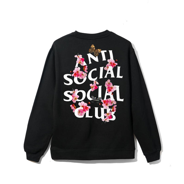 ASSC (Asia Exclusive) Peach Love Floral Crewneck Black S