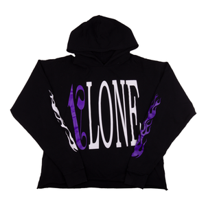 Vlone x Palm Angels Black/Purple Hoodie (NEW)